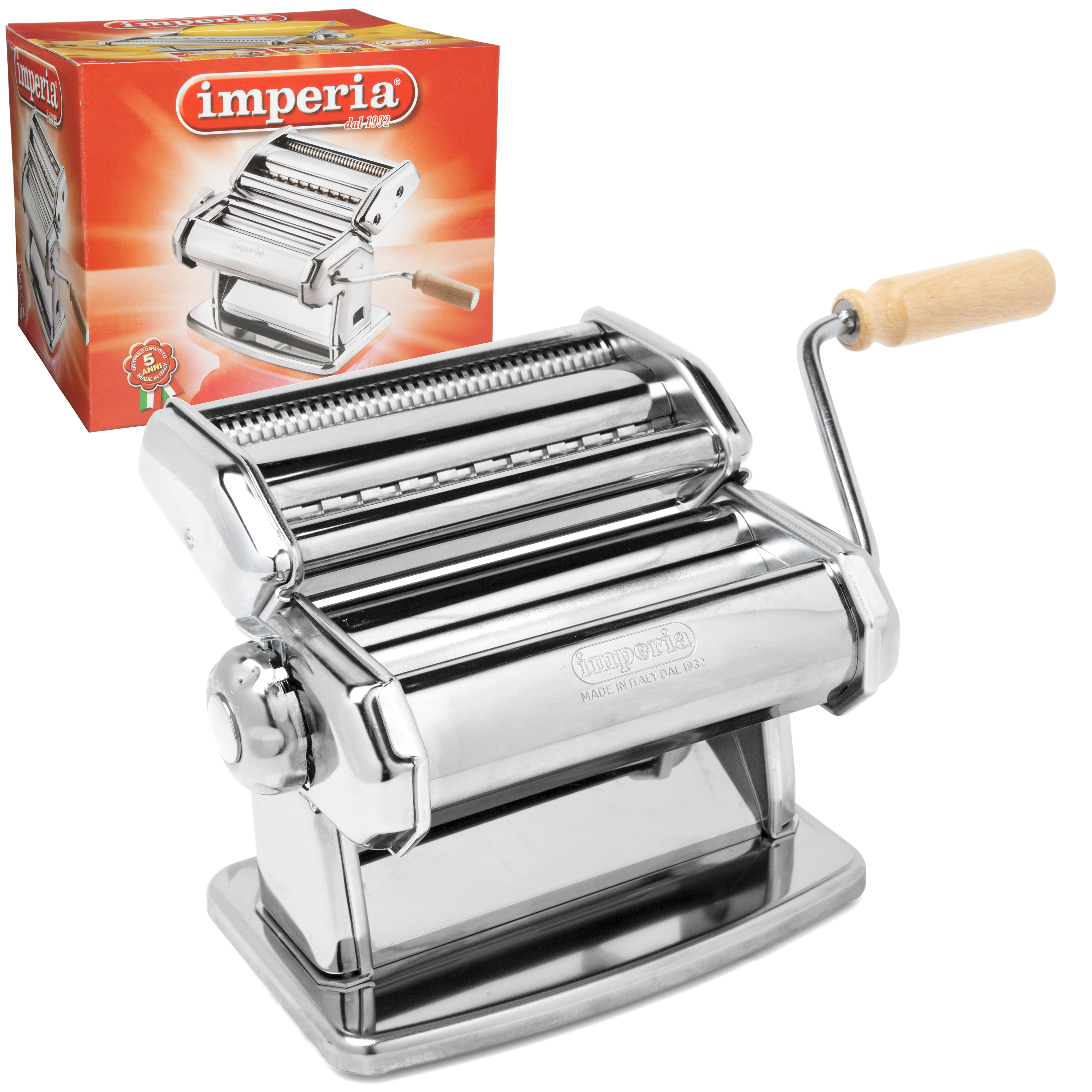 imperia pasta machine from cucinapro inspiring chefs everywhere. Black Bedroom Furniture Sets. Home Design Ideas
